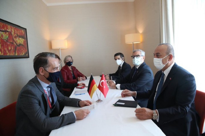 Turkey's Cavusoglu discusses situation in Karabakh with German counterpart