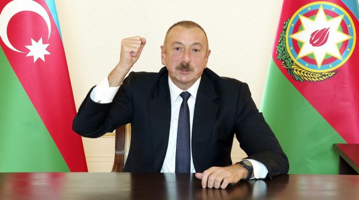 """""""Status-kvonu biz döyüş meydanında dəyişdik"""" -    İlham Əliyev"""