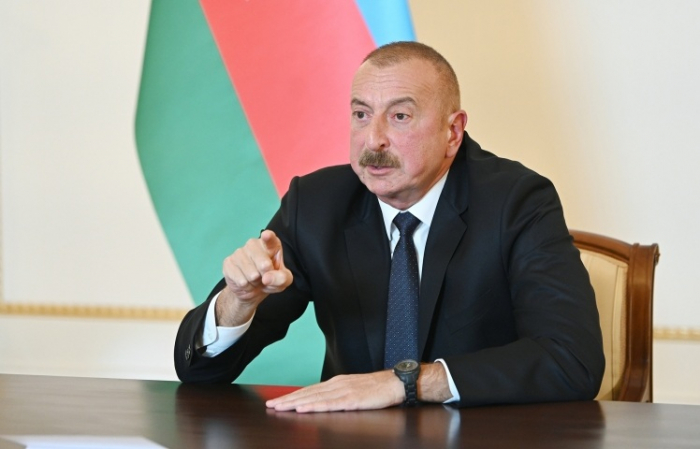 President Ilham Aliyev: The only way to save the enemy country is to leave our lands