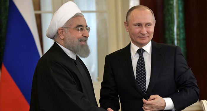 Rouhani discusses current situation in Karabakh with his Russian counterpart