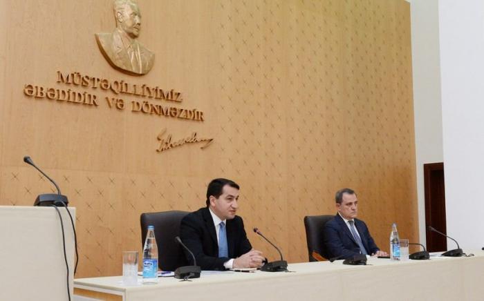 Azerbaijani FM and President