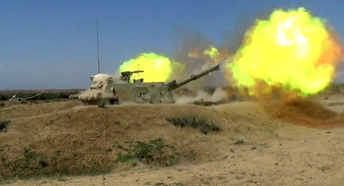 Armenian artillery unit violating ceasefire destroyed -   VIDEO