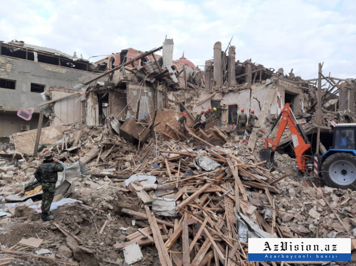 Azerbaijan completes search and rescue ops in residential building hit by Armenia rocket