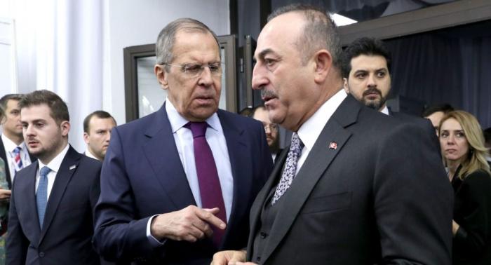 Top Turkish, Russian diplomats discuss situation in Nagorno-Karabakh