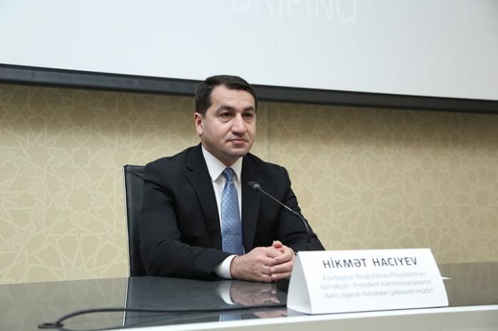 Civilian population is not Azerbaijan's target – presidential aide