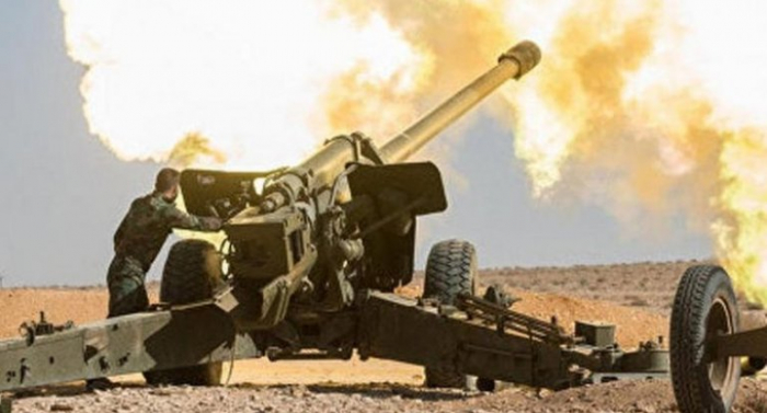Armenian army intensively shells Azerbaijan's Aghjabadi