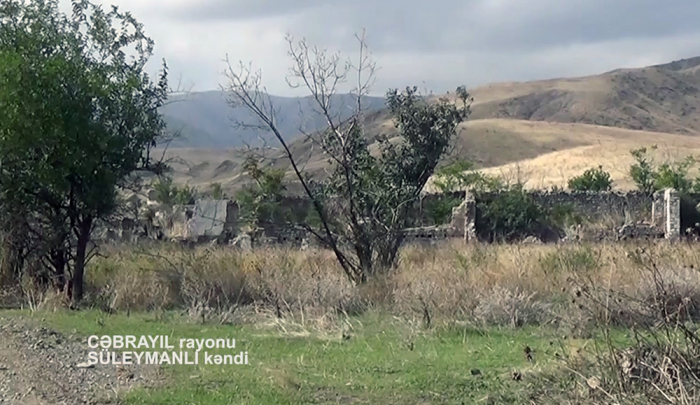 Azerbaijan releases video footage of liberated Suleymanli village