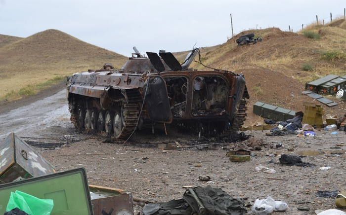 List of Armenia's military equipment destroyed on night of Oct. 13