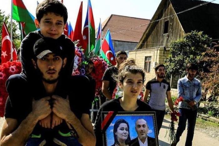 Three children lose both parents as Armenia targets civilians in Ganja