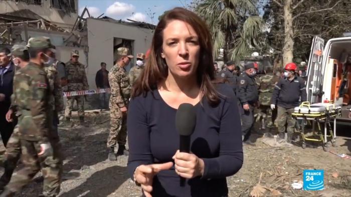 """""""France 24"""" Gəncədən reportaj hazırladı -  FOTOLAR"""