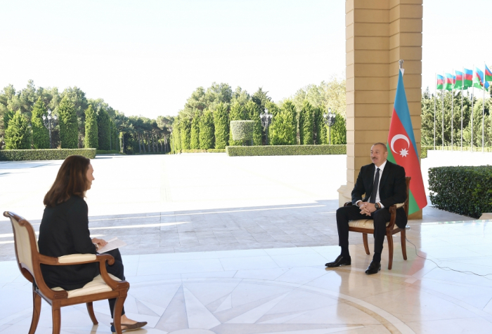 President Ilham Aliyev interviewed by France 24 TV channel - UPDATED|VIDEO