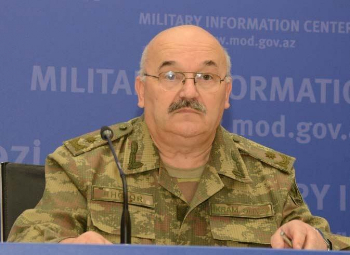 Azerbaijani MoD: If Armenia's missile systems not destroyed, then these missiles could reach Baku