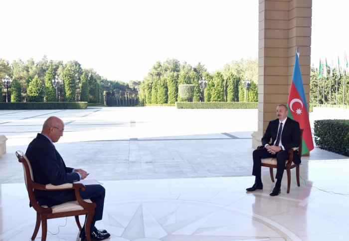 Prezidentin NTV televiziyasına müsahibəsi -  YENİLƏNİB