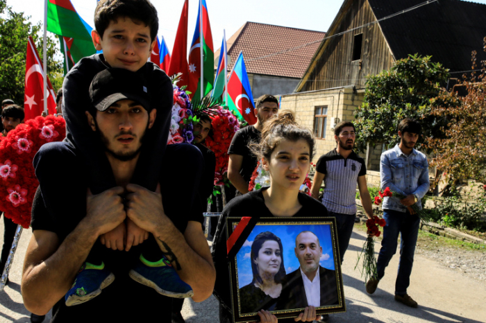 Hours after truce agreed, children became orphans in Azerbaijan