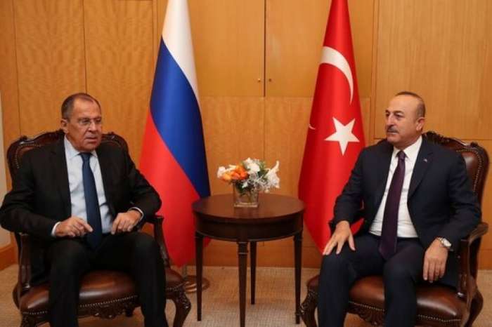 Top Turkish and Russian diplomats discussed the situation on frontline