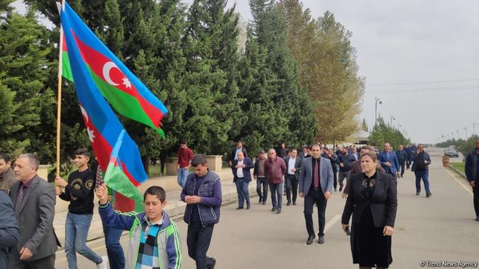 IDPs from Khojavand celebrate liberation of Azerbaijani lands -  PHOTOS