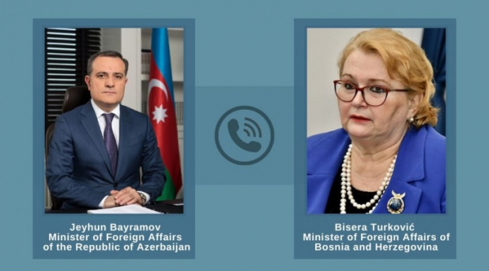 Azerbaijani FM discusses current situation in Nagorno-Karabakh with his Bosnia-Herzegovina counterpart