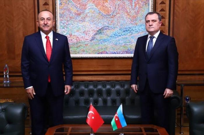 Azerbaijani FM had phone conversation with his Turkish counterpart