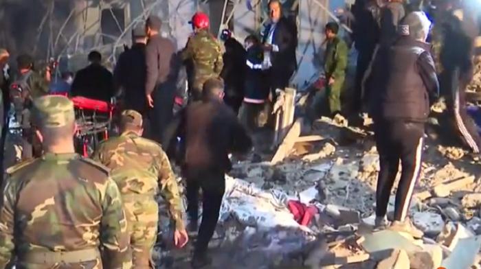 Armenian missile attack destroys over 20 houses in Azerbaijan's Ganja - VIDEO