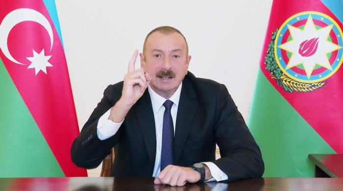 """""""Ermənistan torpaqlardan öz xoşu ilə çıxmaq fikrində deyil"""" -    Prezident"""