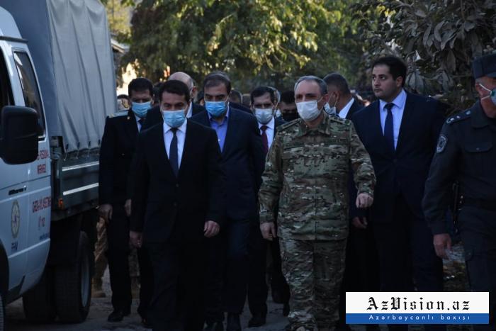 Des diplomates étrangers sont en visite à Gandja -  PHOTOS