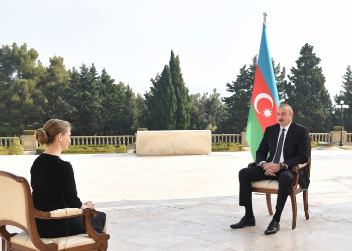 Ilham Aliyev a accordé une interview à l