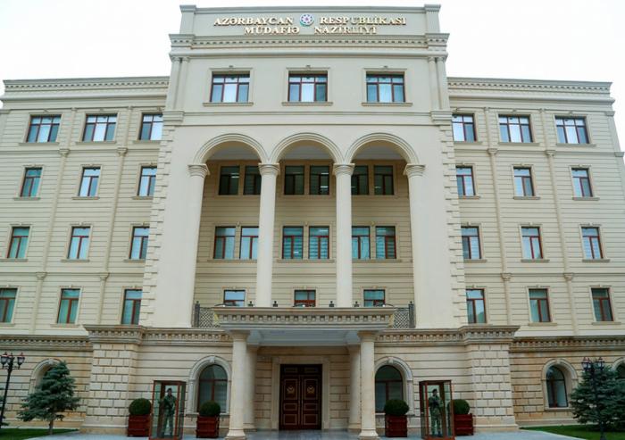 MN:  Ordumuz mülki əhalini atəşə tutmur