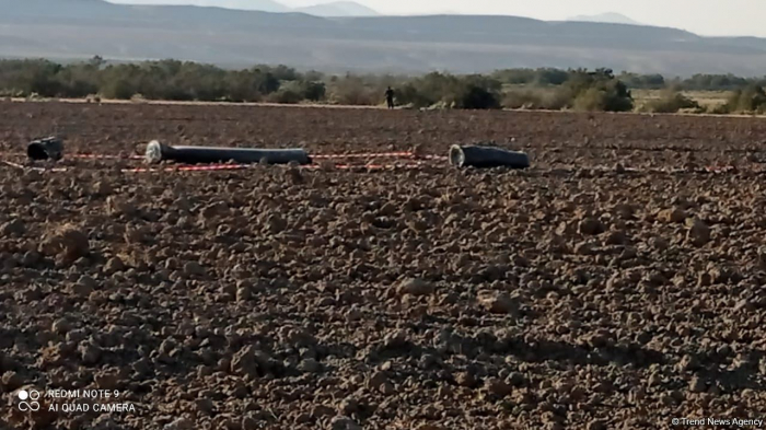 Remains of S-300 missile found in Khizi