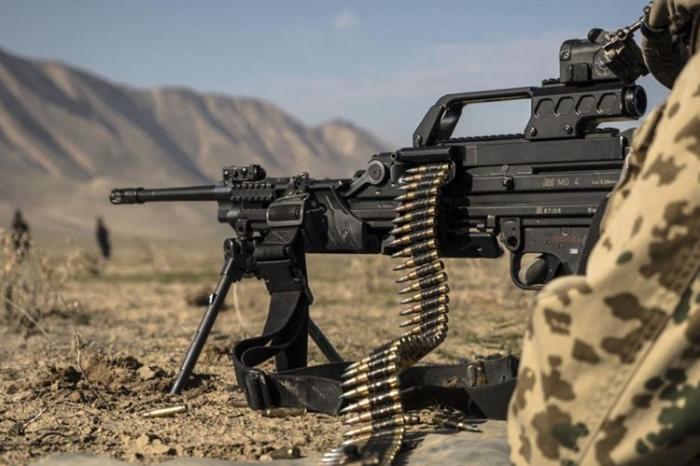 Armenian armed forces shell Azerbaijan's border positions
