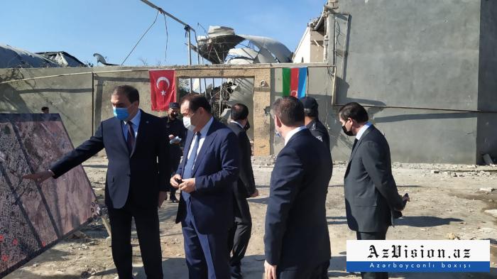Le Secrétaire Général du Conseil turc visite Gandja -  PHOTO