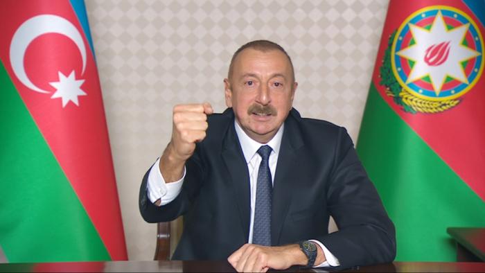 "President Aliyev renamed ""Vang"" village as ""Chinarli"""