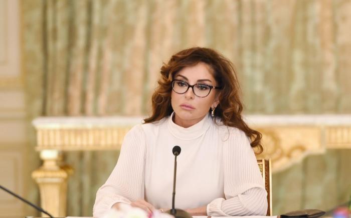 La première vice-présidente Mehriban Aliyeva félicite le peuple azerbaïdjanais