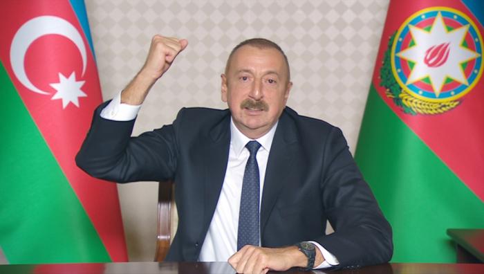"""""""Nous sommes au seuil du Grand Retour"""" -  Ilham Aliyev"""