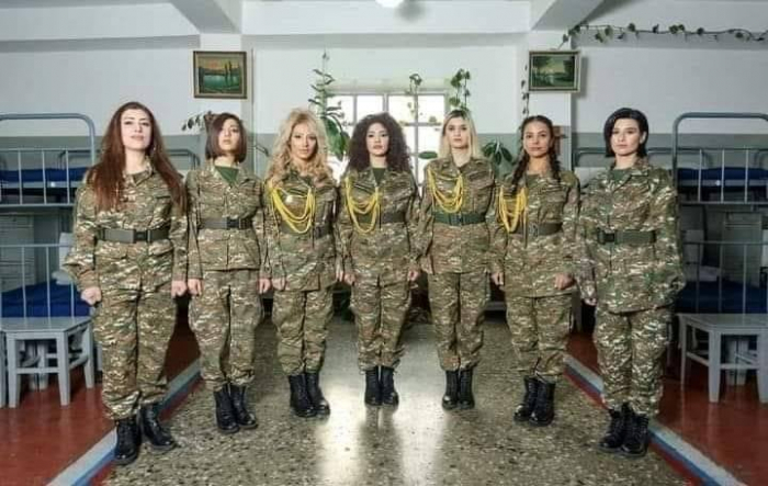 Des femmes arméniennes se sont enrôlées pour des batailles dans le Haut-Karabagh