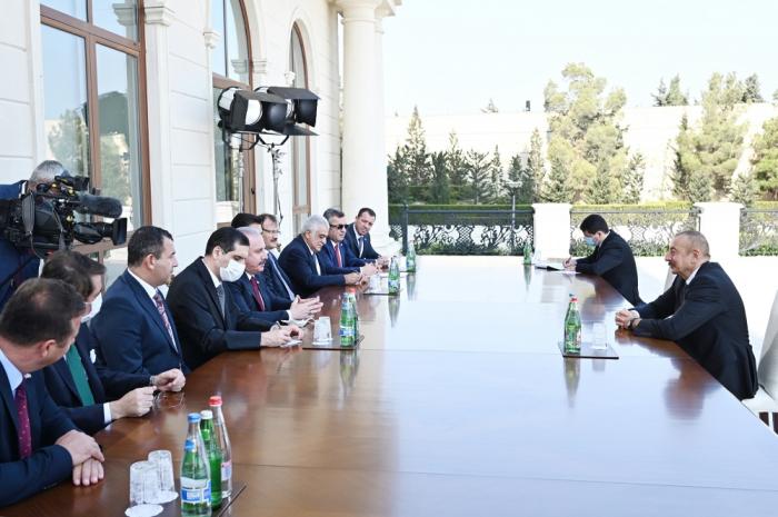 Präsident Aliyev:   Die türkisch-aserbaidschanische Einheit ist unerschütterlich