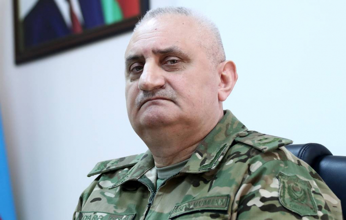 Azerbaijani Army controls situation in frontline, says Major General