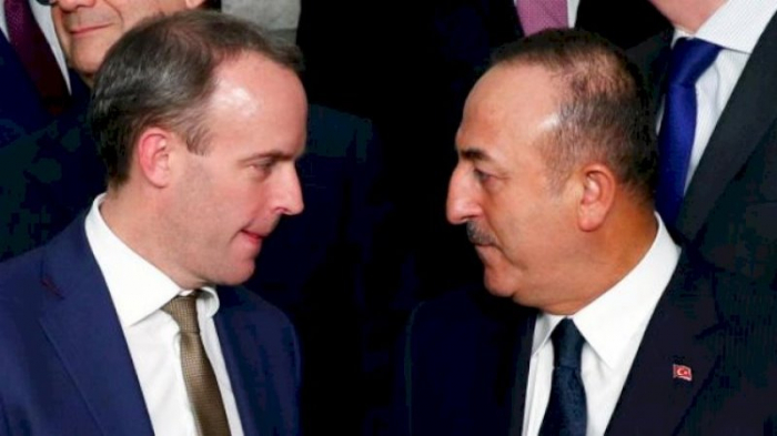 Turkish FM discusses Karabakh with his British counterpart