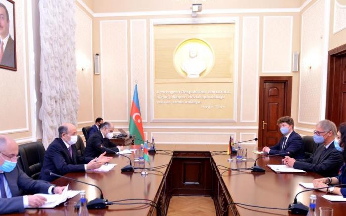 """""""Die Regierung unterstützt die territoriale Integrität Aserbaidschans""""  - deutscher Botschafter"""