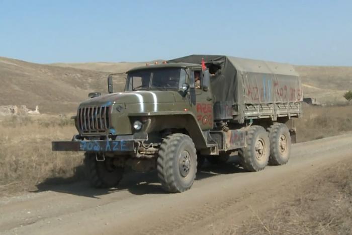 Le ministère de la Défense diffuseune vidéo  du butin de guerre pris à l'armée arménienne