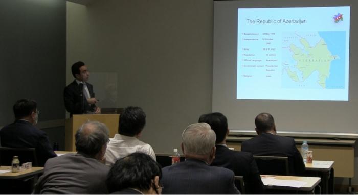 Se llevó a cabo una sesión informativa sobre Karabaj en Japón