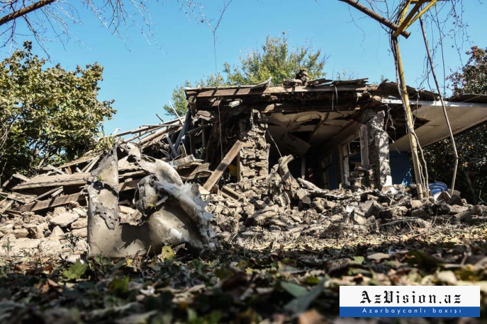 Armeniens barbarische Taten in Terter -  FOTOS