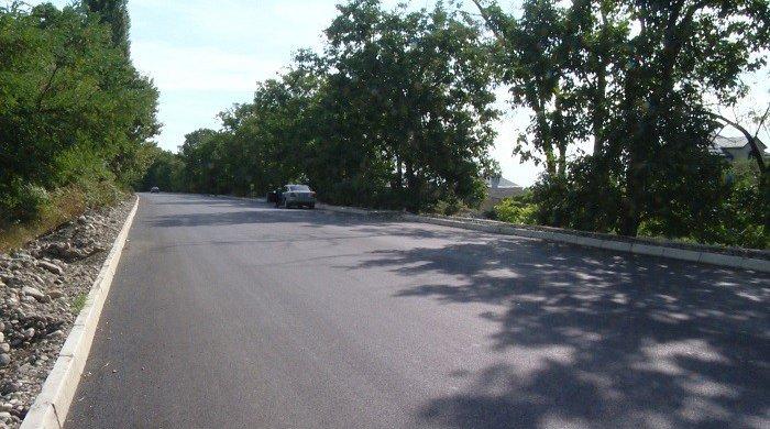 Des travaux en cours pour la reconstruction des routes dans les villages de Talich et Sugovuchan