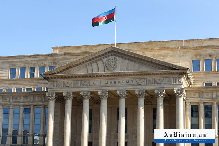 Supreme Court of Azerbaijan issues statement on Armenian army's targeting civilians