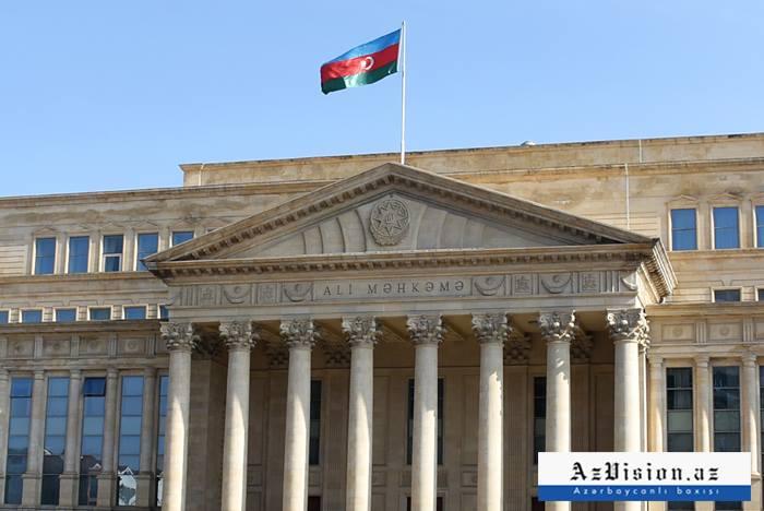 El Tribunal Supremo de Azerbaiyán emite una declaración sobre los ataques del ejército armenio contra civiles