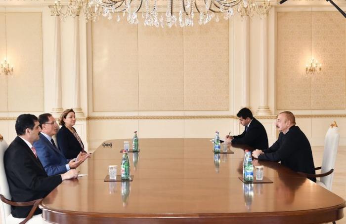 President Ilham Aliyev receives Turkey's chief ombudsman - VIDEO (UPDATED)