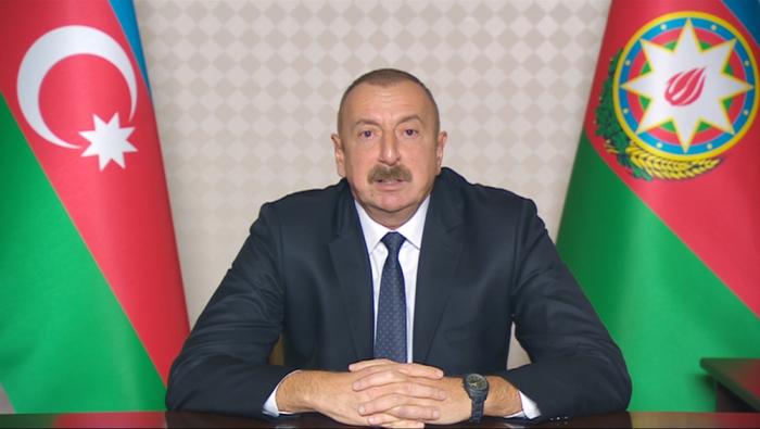 """Ilham Aliyev :""""Friedenstruppen sind das letzte Grundprinzip"""""""