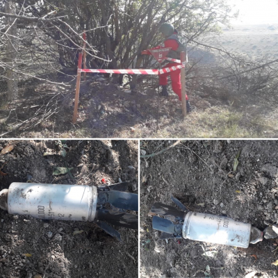 Armenien setzt fortwährend verbotene Streumunition gegen Zivilisten ein -   ANAMA
