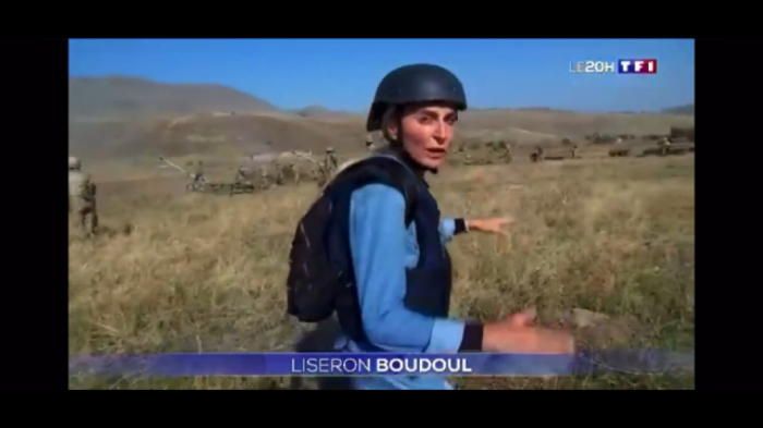 France's TV channel broadcasts reportage from the frontline - VIDEO