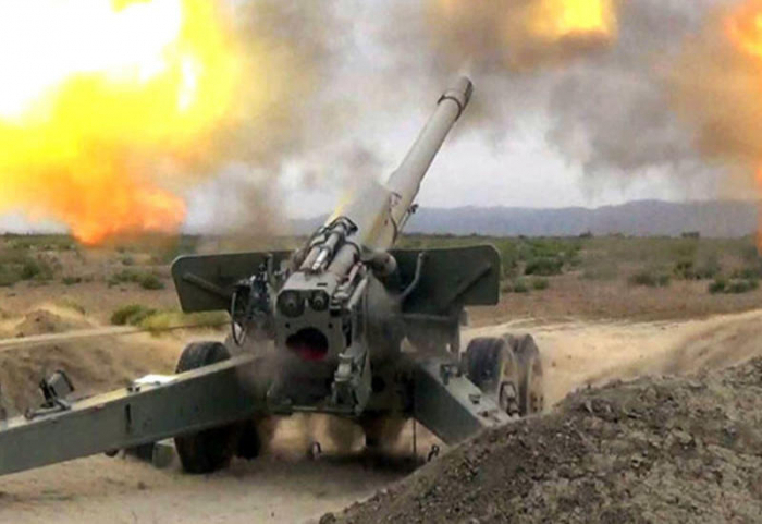 Armenien schoss auf Terter, Aghdam und Agdschabadi