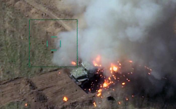 Feindliche Kräfte und Mittel zerstört   - VIDEO